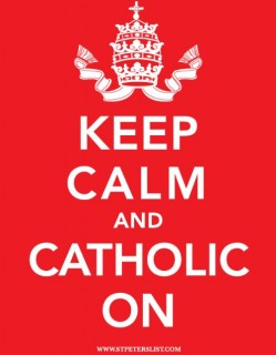 Catholic Poster